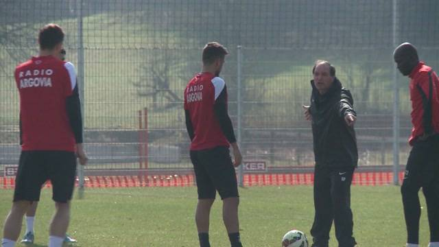 Erstes FCA-Training: Raimondo Ponte macht gleich auf Tempo