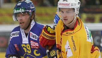 Anton Gustafsson (rechts) kehrt nach Langnau zurück