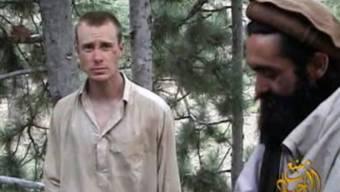 Screenshot aus einem Taliban-Video von 2010 zeigt den US-Soldaten Bergdhal.
