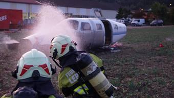 Übung der Feuerwehr Lengnau-Pieterlen-Meinisberg