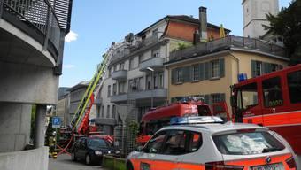 Küchenbrand an der Kirchstrasse Grenchen