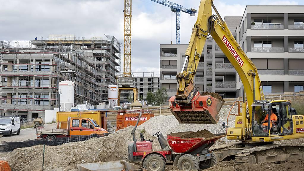 Schweizer Bauwirtschaft erwartet nach Pandemiejahr leichte Erholung