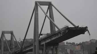 Teile der Brücke sind nun in Dübendorf eingetroffen. (Archiv)