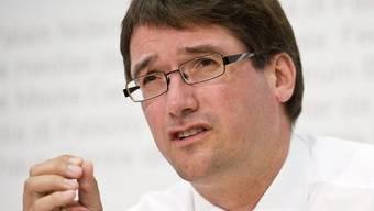 SP-Präsident Levrat nimmt Stellung zur Nachfolge von Micheline Calmy-Rey. (Archiv)