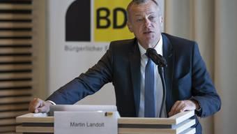 Die Konzernverantwortungsinitiative sei eine Selbstverständlichkeit, erklärte BDP-Präsident Martin Landolt zur Eröffnung des Abstimmungskampfes.
