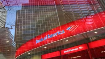 Gebäude der Bank of America in New York (Symbolbild)