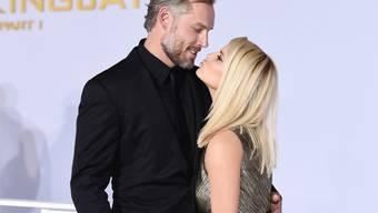 Glückliche Eltern: US-Sängerin und Schauspielerin Jessica Simpson und Ehemann Eric Johnson freuen sich über die Geburt ihres dritten Kindes. (Archivbild)