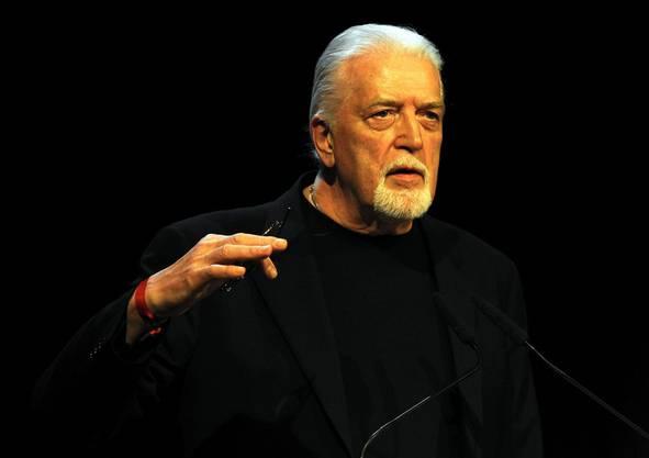 John Lord von Deep Purple gedenkt Steve Lee beim Swiss Music Award