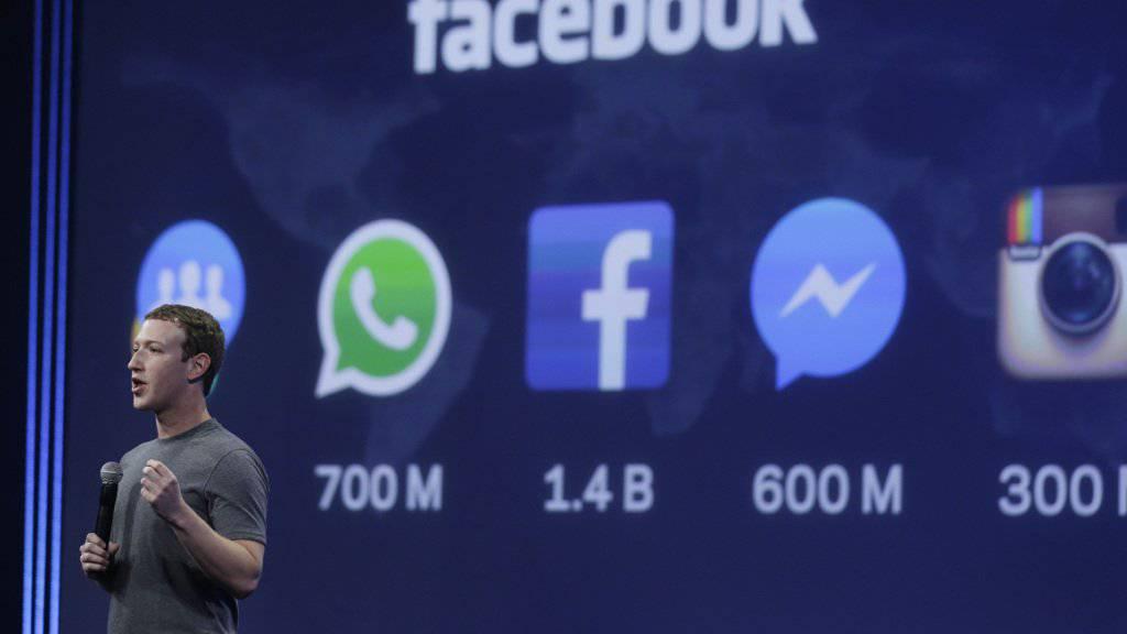 Facebook-Chef Mark Zuckerberg überdenkt seine Steuerpraxis. (Archivbild).
