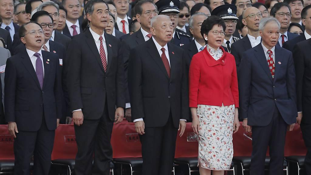 Peking beruft seinen höchsten Vertreter in Hongkong ab