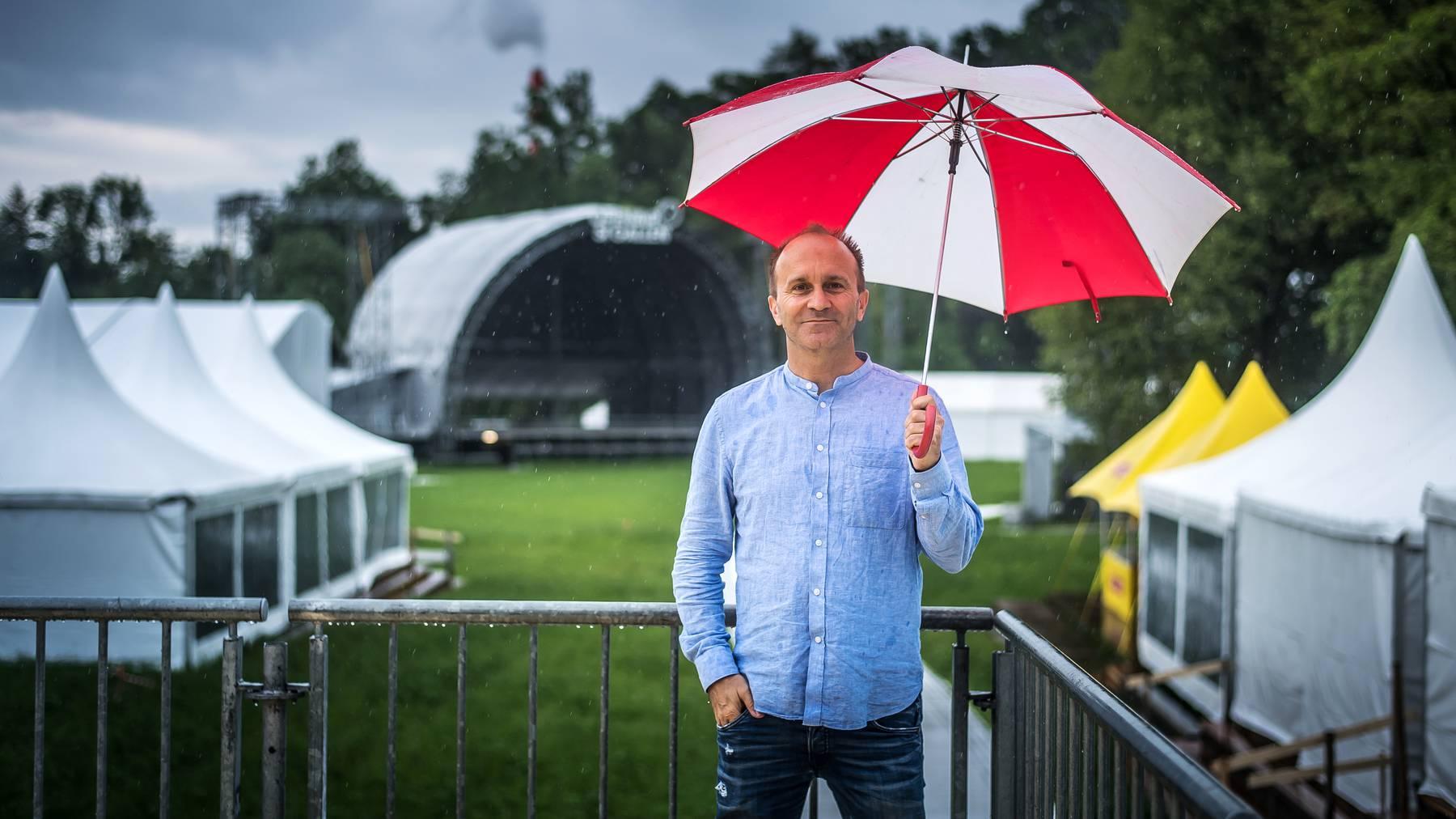 Wegen des Coronavirus fällt «sein» Festival dieses Jahr ins Wasser: OASG-Direktor Christof Huber