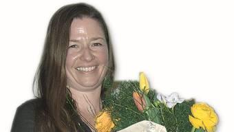 Barbara Pfister wurde an der Versammlung in der «Traube» Küttigen als 3000. Mitglied geehrt.