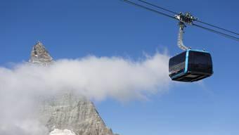 Eine von vielen Investitionen in Schweizer Wintersportorten: Die 60 Millionen Franken teure 3S-Seilbahn aufs Klein Matterhorn ist seit Herbst in Betrieb.