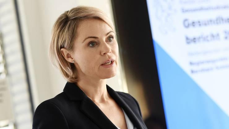 Die Zürcher Gesundheitsdirektorin Natalie Rickli.