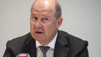 Valentin Vogt, Präsident des Schweizerischen Arbeitgeberverbands, hofft auf einen Ausstiegsplan aus dem Coroona-Lockdown in gut einer Woche.