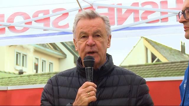 Hitzfeld wirbt für FCA-Stadion