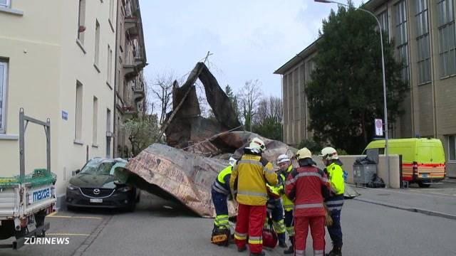 Sturm Niklas sorgt für Zerstörung und Verletzte