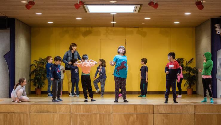 In Zuchwil probten letzte Woche 27 Kinder für eine Theateraufführung der besonderen Art.