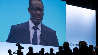Sein Lohn lässt auch dieses Jahr an der Generalversammlung die Emotionen hochgehen: CS-Chef Tidjane Thiam.