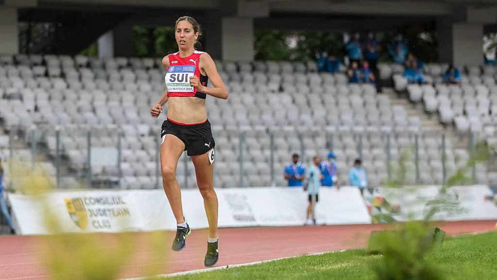 Für Fabienne Schlumpf gilt es im Marathon wie auch Martina Strähl und Tadesse Abraham einen kühlen Kopf zu bewahren
