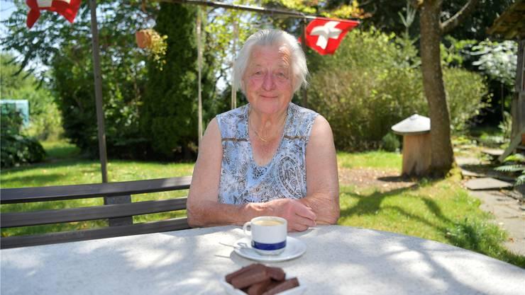 Helene Fischer aus Küttigkofen wurde kürzlich 91 Jahre alt. Wir gratulieren.