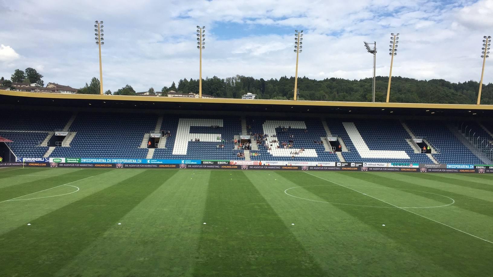 Neuer Rasen für Swissporarena