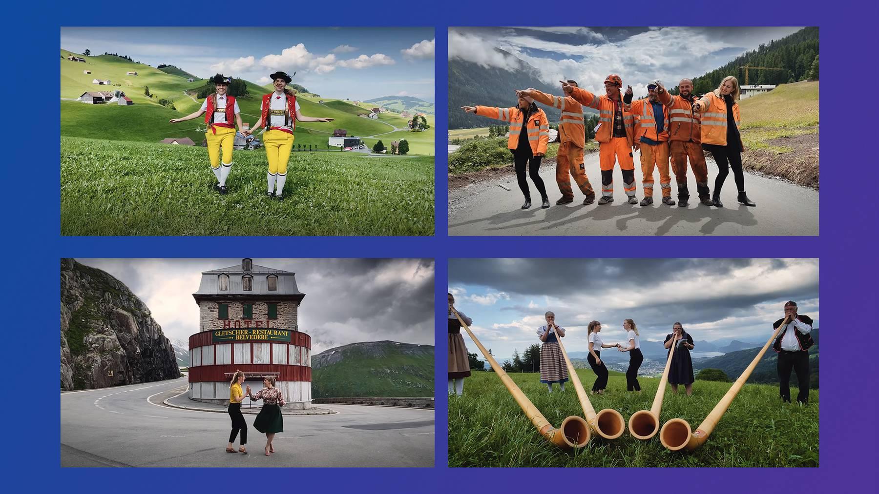 Titelbild Tanz durch die Schweiz