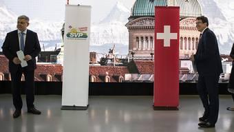 Die SVP-Fraktion hat sich am Samstag in den Räumen der Bernexpo auf die ausserordentliche Session von kommender Woche eingeschworen.