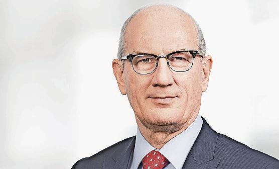 Ernst Bärtschi VR-Präsident Conzzeta