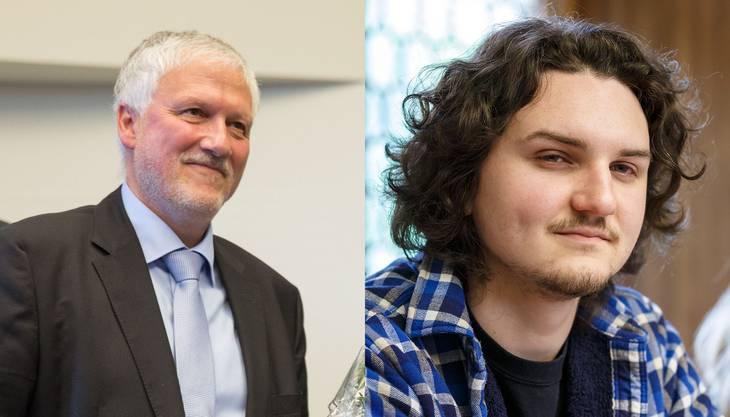Peter Gomm war noch Regierungsrat, als Sohn Simon im Frühling 2017 seine Arbeit im Kantonsrat aufnahm.