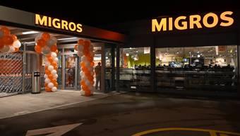 Eröffnung einer Migros-Filiale in Solothurn vor zwei Jahren.