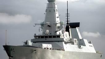 Unterwegs zu den Falklandinseln: Die HMS Dauntless (Archiv)