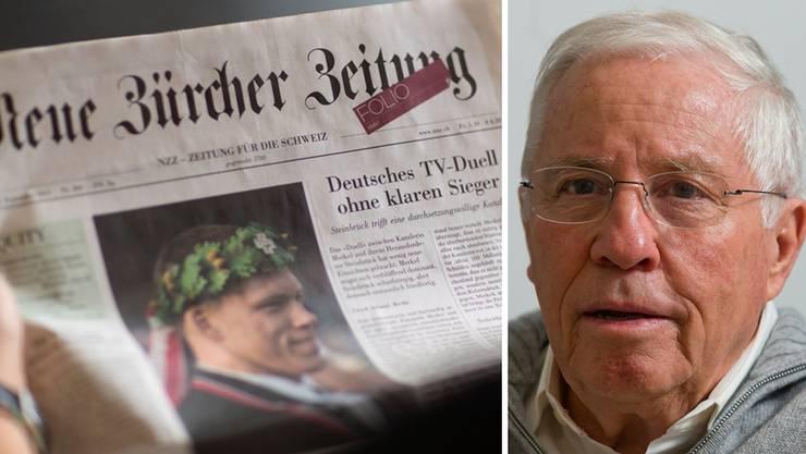 Sucht die NZZ einen Deal mit Christoph Blocher oder sind die Gerüchte doch nur ein Rascheln im Blätterwald?