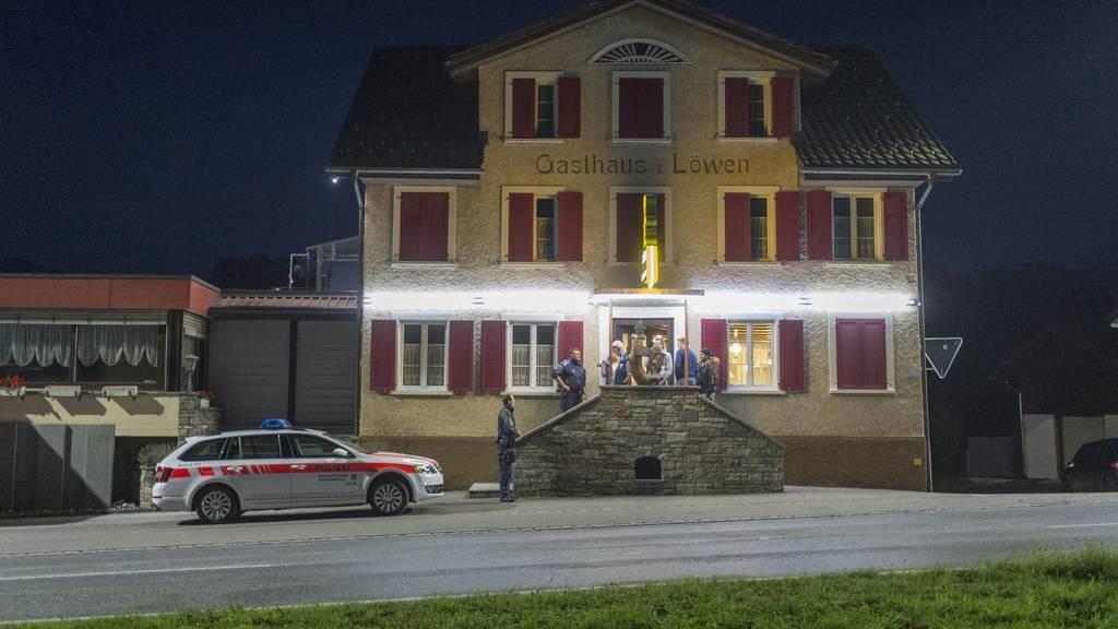 Die Pnos trifft sich im «Löwen» in Kaltbrunn.