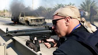 Ein Söldner im Irak. (Symbolbild)