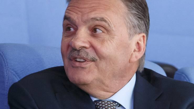 René Fasel bleibt vier weitere Jahre Weltverbands-Präsident