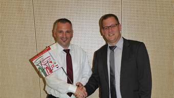 Stefan Fluri (l.) und Christoph Egger. zvg