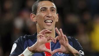 Paris' Di Maria ist nur einer der vielen PSG-Stars, die in den St. Jakob-Park kommen werden.