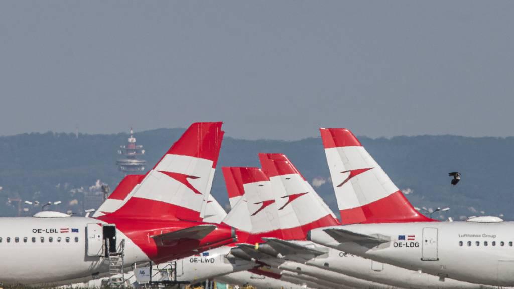 600-Millionen-Rettungspaket für Lufthansa-Tochter AUA