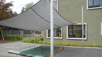 Bild: Von der Eröffnung des Doppelkindergarten Guggenbühl. (2016)