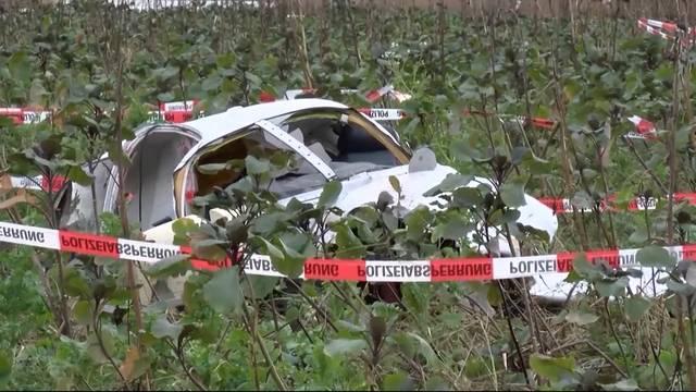 In Deutschland verunfallte Piloten waren Aargauer