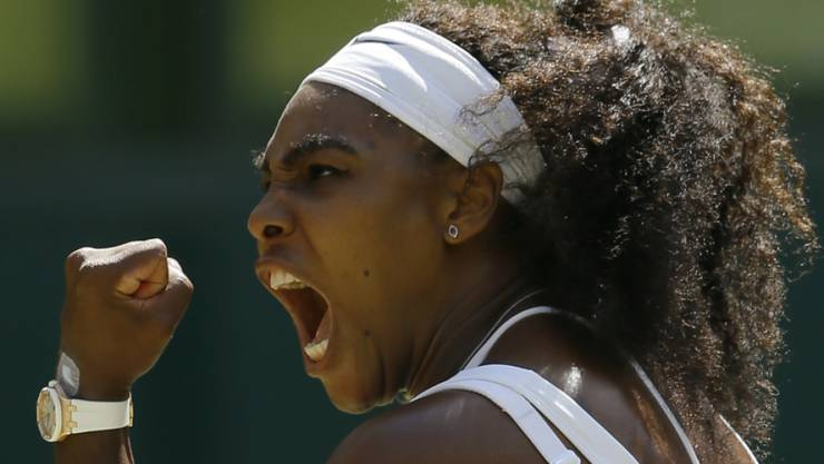 Serena Williams jubelte wieder
