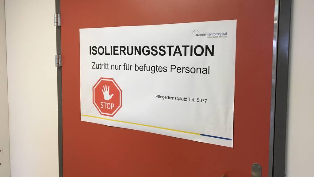 Luzerner Kantonsspital wechselt in den Notfallbetrieb