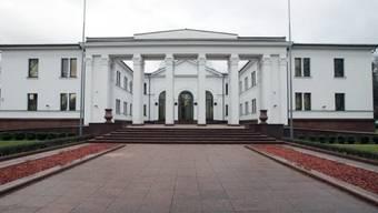 Die Minsker Verhandlungen finden in der Präsidentenresidenz statt