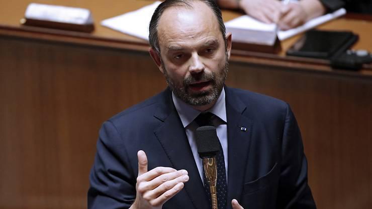 Die Steuern müssten schneller gesenkt werden, meint Frankreichs Regierungschef Edouard Philippe.