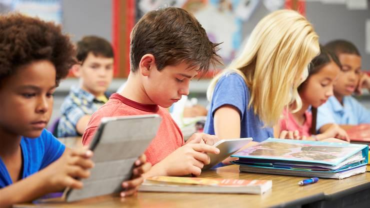 In mehreren Schulen des Silicon Valley werden Computer und Tablets aus dem Unterricht verbannt. (Symbolbild)