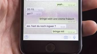 Nicht selbstverständlich: Ein fehlerfreier Whatsapp-Chat (Themenbild)