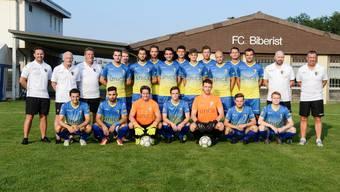 Zum zweiten Mal erfolgreich: Der FC Biberist.