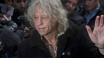 Bob Geldof am Samstag in London
