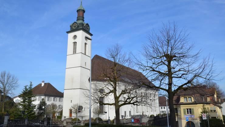 Die Kirche St. Leonhard in Wohlen. (Archivbild)